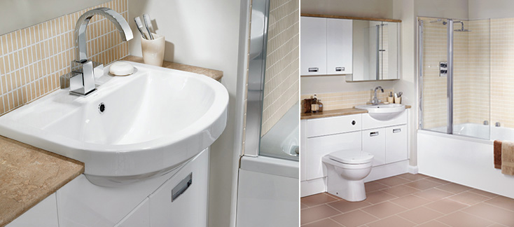 Bella Fitted Bathroom Furniture
