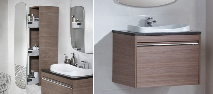 Halo Bathroom Furniture Contemporary Range Bathrooms