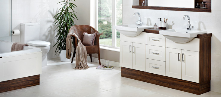 Shaker Fitted Bathroom Furniture