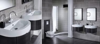 Space Saving Encurva Bathroom Furniture