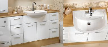 Sienna Fitted Bathroom Furniture