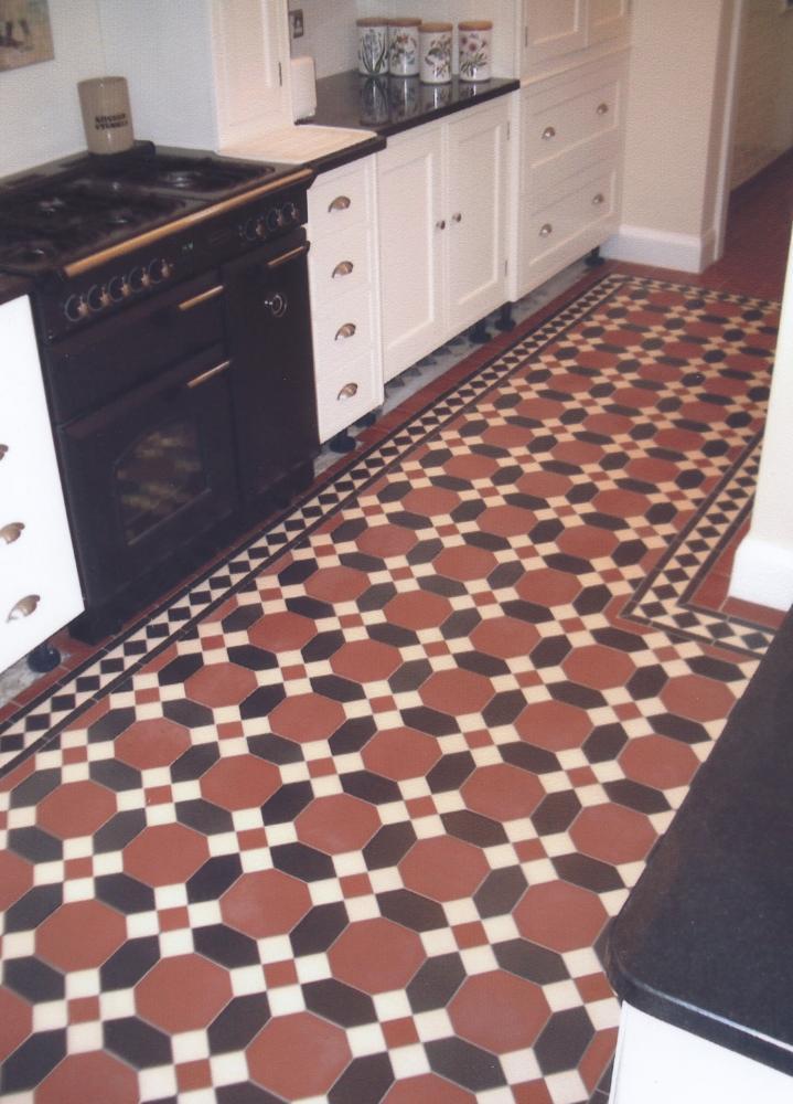 Victorian floors home design for Victorian style kitchen floor tiles